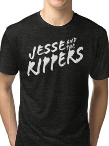 Jesse and the Rippers Funny Geek Nerd Tri-blend T-Shirt