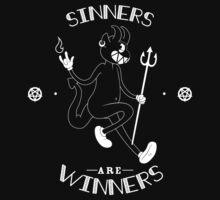 Sinners are WINNERS - DARK VERSION by cutesatan