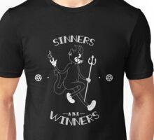 Sinners are WINNERS - DARK VERSION Unisex T-Shirt
