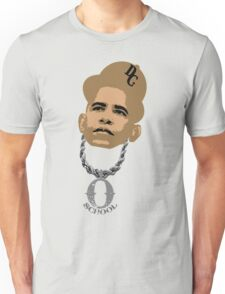 O SCHOOL OBAMA HEAD SHOT Unisex T-Shirt