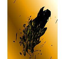 Exploding Starship Photographic Print