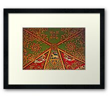 Gloucester Cathedral – St Andrews Chapel Ceiling Framed Print