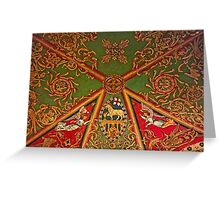 Gloucester Cathedral – St Andrews Chapel Ceiling Greeting Card