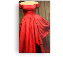 Mamie's Red Gown Metal Print