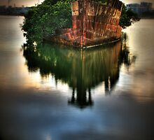 Ghost Ship I by Mark Moskvitch
