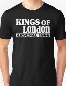 Kings of london arsenal 1886 Funny Geek Nerd T-Shirt