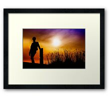 Bridge of a single dream Framed Print