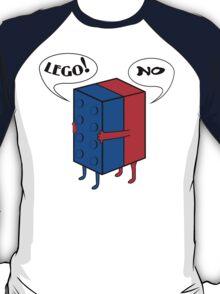 LEGO! NO! Funny Geek Nerd T-Shirt