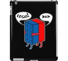 LEGO! NO! Funny Geek Nerd iPad Case/Skin