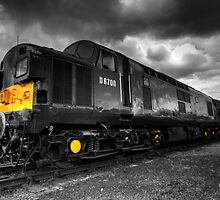 Class 37 Pioneer (mono version) by Rob Hawkins