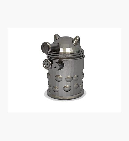 metal dalek Photographic Print