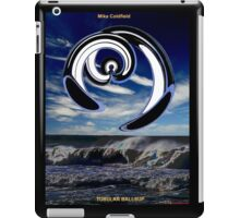 Tubular Ballsup by Mika Coldfield T-shirt Design iPad Case/Skin