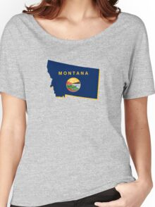 montana state flag Women's Relaxed Fit T-Shirt