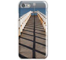 Pier in the sun iPhone Case/Skin