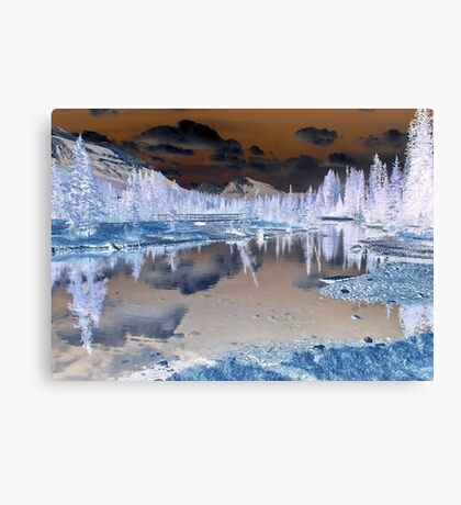 Landscape with a Difference Canvas Print