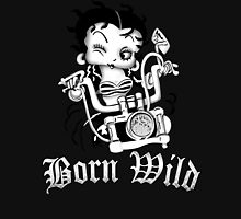 Betty Boop Motorcycle Unisex T-Shirt