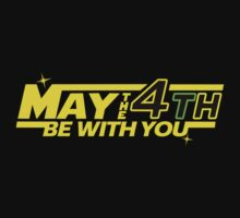 MAY THE 4TH BE WITH YOU Funny Geek Nerd by fikzuleh