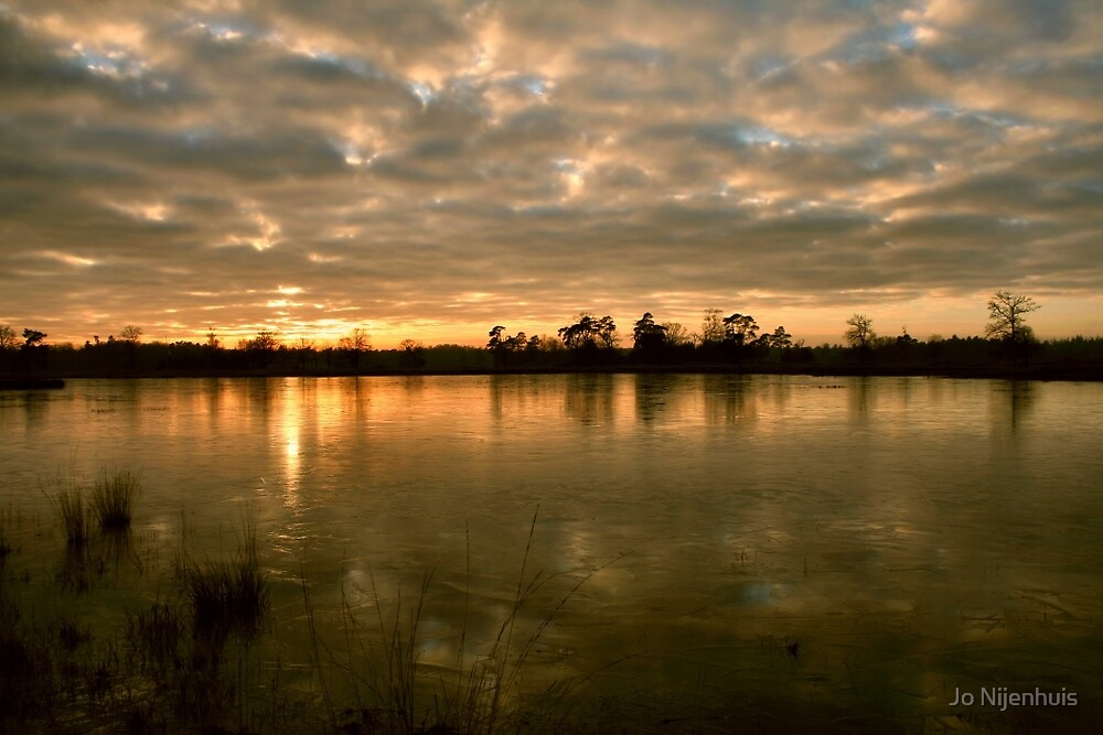 Winters Evening by Jo Nijenhuis