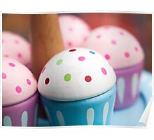 Cup Cake Tea Party Poster