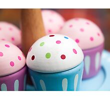 Cup Cake Tea Party Photographic Print