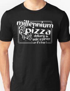 Millennium Pizza Funny Geek Nerd T-Shirt