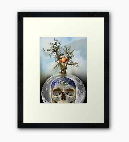 new territories Framed Print