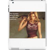Buffy Quotes iPad Case/Skin