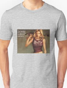 Buffy Quotes Unisex T-Shirt