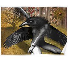 crowshe bruxa Poster