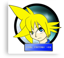 Cloud Strife FF7 Canvas Print
