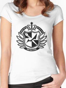 Super High School Level Detective Women's Fitted Scoop T-Shirt