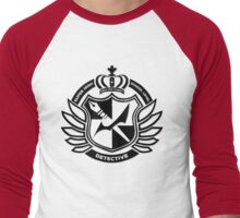 Super High School Level Detective Men's Baseball ¾ T-Shirt