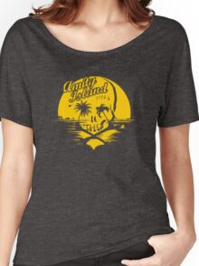 Amity island skull Women's Relaxed Fit T-Shirt