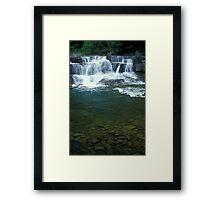 Taughannock Creek Framed Print
