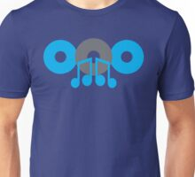 cute music CD with mucical notes Unisex T-Shirt