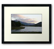 Glen Cannich  Framed Print