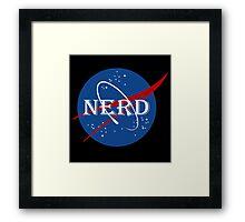 Nerd Funny Geek Nerd Framed Print