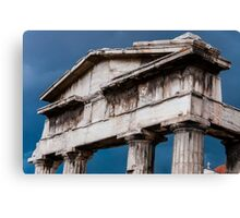 Stormy Rome in Greece Canvas Print