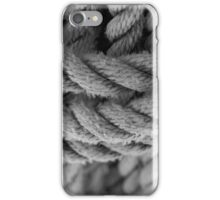 Tie a knot in the rope iPhone Case/Skin