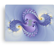 Swirls for girls Canvas Print