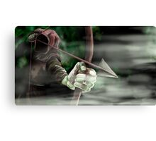 Robin the Hooded Man - Sherwood Forest, Robin Hood, Archer, Nottingham Canvas Print