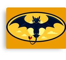 Nightwing Funny Geek Nerd Canvas Print