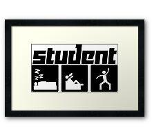 Student Framed Print