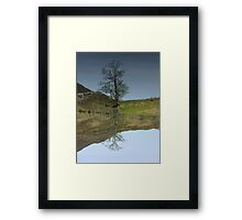 Reflections in Glen Cannich Framed Print