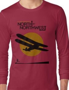 North by northwest Funny Geek Nerd Long Sleeve T-Shirt