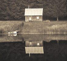 Sauna by Yevgeni Kacnelson