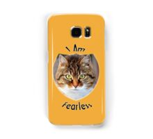 I Am Fearless Samsung Galaxy Case/Skin