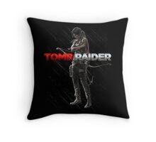 Lara Croft Tomb Raider Throw Pillow