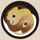 Tao and Zen - Yin Yang by shiro