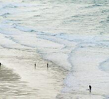 Strolling the Surf by secondcherry